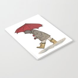 Playing in the Rain Notebook