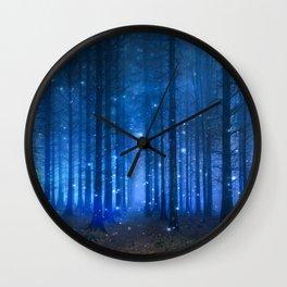 Dreamy Woods II Wall Clock