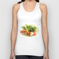 cooking Tank Tops featuring COOKING MASTER by OeildePHI