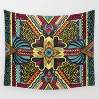 persian Wall Tapestries featuring Persian by Guanabana