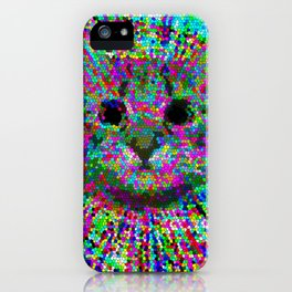 Hypno LSD cat iPhone Case