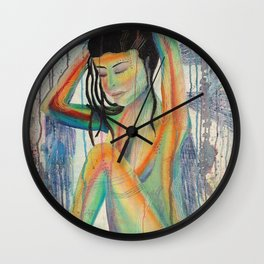 Reflections of Inner Being Wall Clock