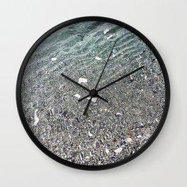 sparkling lake Wall Clock