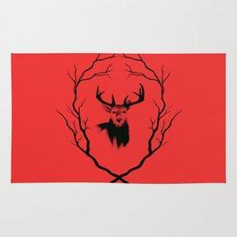Red deer  Rug
