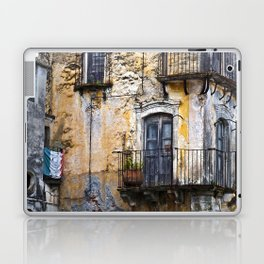 Urban Sicilian Facade Laptop & iPad Skin