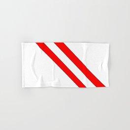 Flag of peru 2-Peruvian, Lima, latin america,america, quechua,aymara, andean, Arequipa,Piruw Hand & Bath Towel