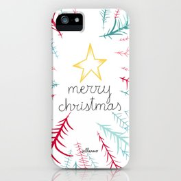 Christmas time - Jungle edition iPhone Case