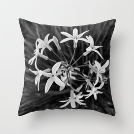 Wild Garlic Throw Pillow