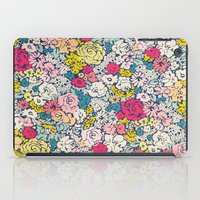 vintage flowers iPad Cases featuring Vintage flowers by Love2Snap
