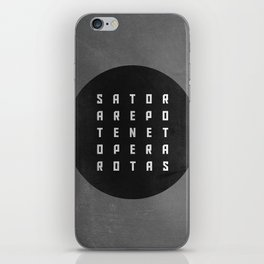 Sator Square iPhone Skin