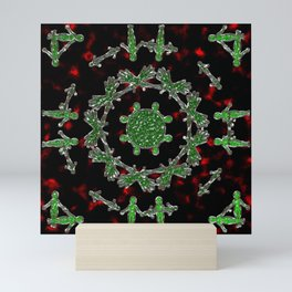 Extraterrestrial Mandala Mini Art Print