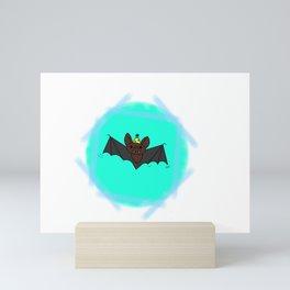Rupert the party bat Mini Art Print
