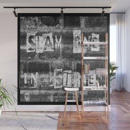 Slam 1 Industries Ransom Note B/W Wall Mural