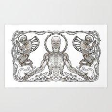 Praise the Flesh Art Print