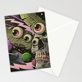 Cosmos Nightmare Stationery Cards