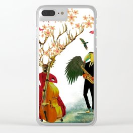Jam sesh with friends Clear iPhone Case