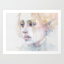 imaginary illness Art Print
