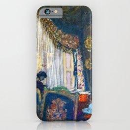 Edouard Vuillard - Mrs. Hessel At Her Window - Digital Remastered Edition iPhone Case