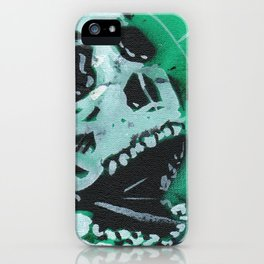 Gunga Skull 07 iPhone Case