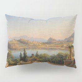 Port of Ischia, Italy by Eduard Agricola Pillow Sham