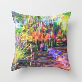 Inspirational Flow Throw Pillow
