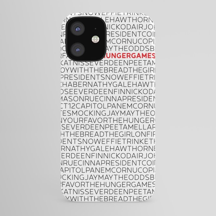 Type: The HungerGames iPhone Case by missphi