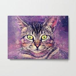 Cat John Metal Print