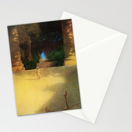 'Prince Abig' or 'The Story of the King's Son' by Maxfield Parrish Stationery Cards