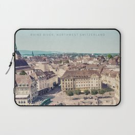 Visit Basel Laptop Sleeve