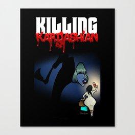 Killing Kardashian Front Cover Art Canvas Print
