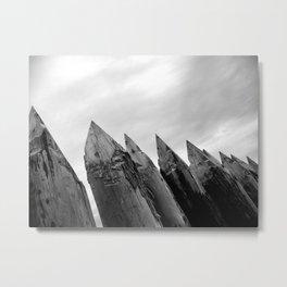 Fort Wall Metal Print