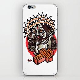 cristo iPhone Skin