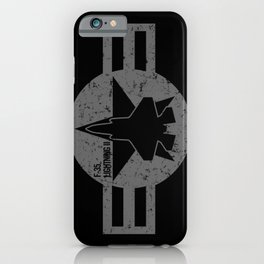 F35 Fighter Jet Airplane - F-35 Lightning II iPhone Case