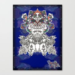 Faces Of the Psyche Canvas Print