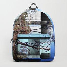 Crisp early November day Backpack