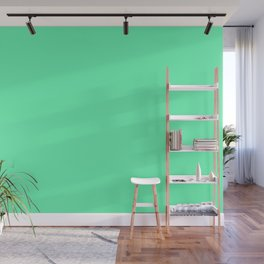 Spring - Pastel - Easter Green Solid Color 3 Wall Mural