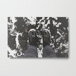 Let's Go Somewhere. Metal Print