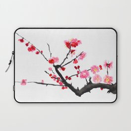 red plum flower Laptop Sleeve