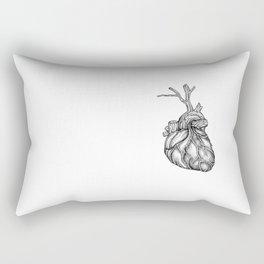 Wooden heart Rectangular Pillow