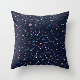 The Stars Throw Pillow
