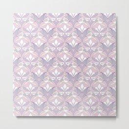 Interwoven XX - Orchid Metal Print