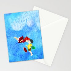 Ponyo and Sosuke Stationery Cards