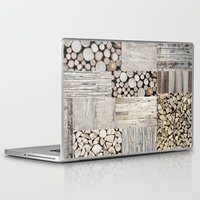 wood Laptop & iPad Skins featuring Wood by LebensART