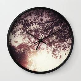 Lost in the Trees:  Blush Wall Clock