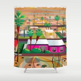 Twentynine Palms Shower Curtain
