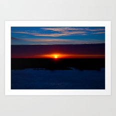 And With Every Breath, There You Are Art Print