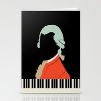mozart Stationery Cards featuring Mozart  by Prelude Posters
