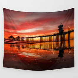 HB Sunsets 11-15-16 Wall Tapestry