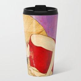 Umbrella Girl Travel Mug