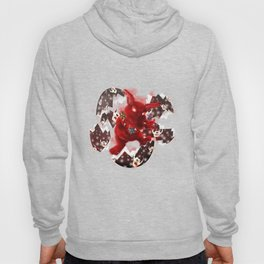'You Cracked the Egg' Series - Easter Evil Bunny Hoody